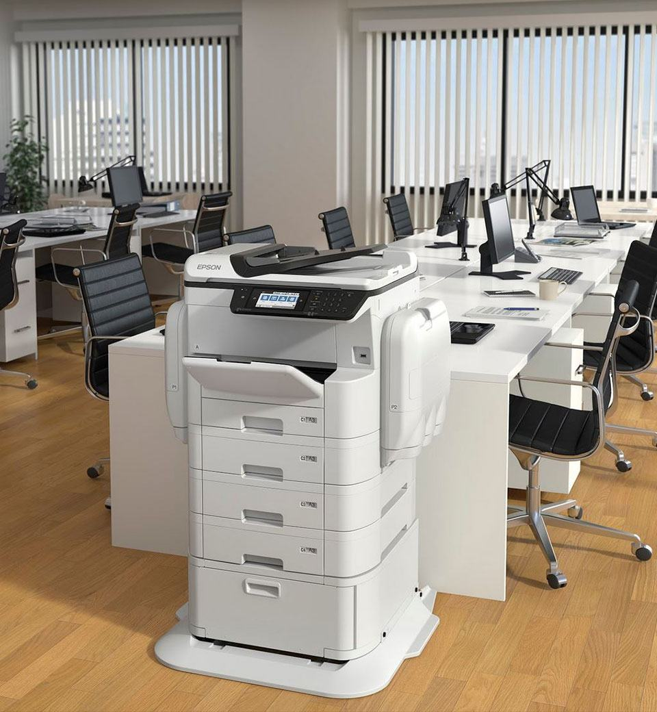 Copier Inside the Office