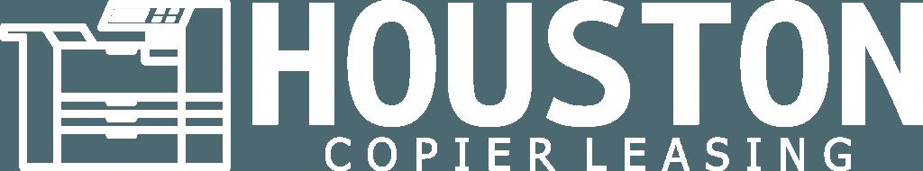 Houston Copier Leasing logo White